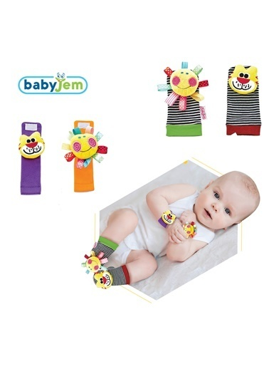 Baby Jem 2 li Takım Renkli